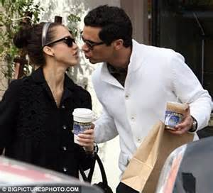 Alba Had Some Gross Kisses by Alba Says Rumours That Lindsay Lohan Kissed