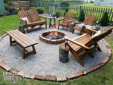Diy Fire Pit Backyard Budget Decor Diy Fire Pit How To Build Backyard Pit