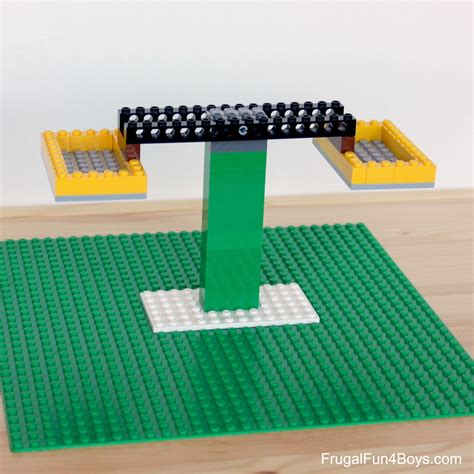 build a build a lego balance