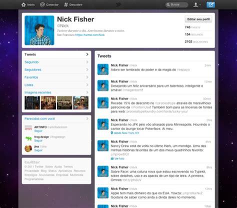 novo layout twitter novo twitter ganhe convites e saiba como aparecer o novo