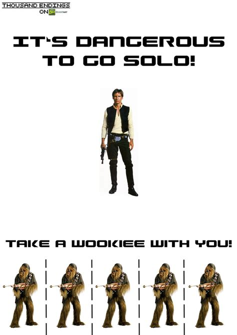 go solo it s dangerous to go solo by thousandendings on deviantart