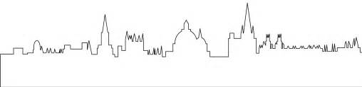 Cityscape Vector Outline by Oxford Skyline Silhouette Free Vector Silhouettes