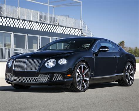 Car Wallpaper 1280x1024 by Bentley Continental Gt Speed Le Mans Edition Black Car