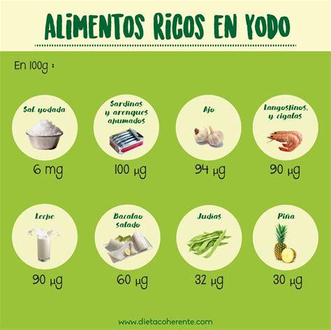 alimentos ricos en yodo para hipotiroidismo alimentos ricos en yodo infograf 237 as pinterest