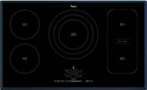 piano cottura 90cm 5 fuochi piano cottura induzione whirlpool 5 fuochi 90 cm acm 795