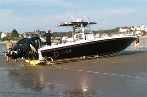 rib boat kennebunkport george bush hits rock bottom motor boat yachting