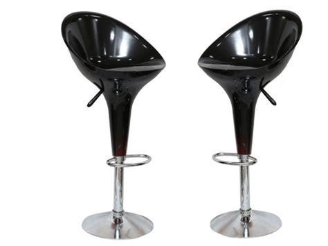 TN/HJ BLACK BAR STOOL (Set of 2) Furniture Online   Buy