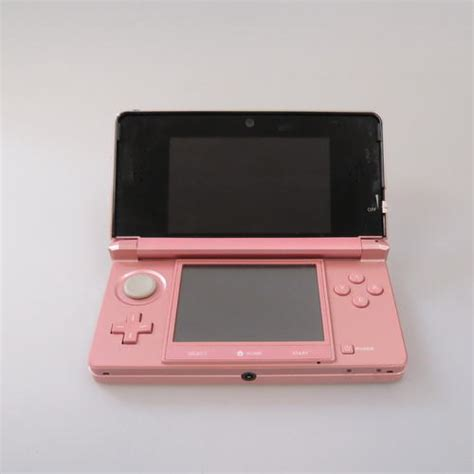 nintendo 3ds handheld console pearl pink ebay nintendo 3ds handheld console pearl pink ebay