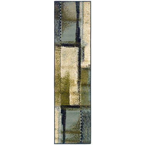 evanston taz blue 1 ft 10 in x 7 ft 3 in rug