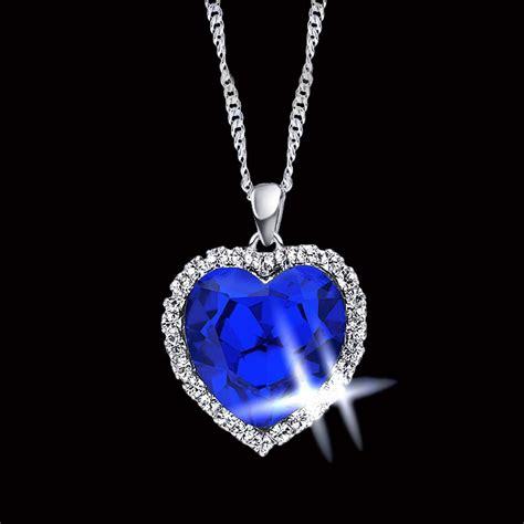 get cheap necklace blue aliexpress alibaba