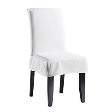 White Chair Slipcovers by Dining Room Chairs Archives Design Your Home