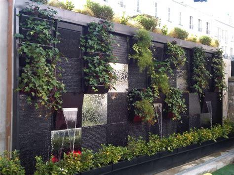 decoracion paredes jardin paredes y vallas con jardines verticales