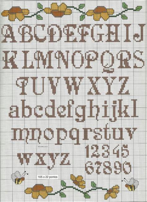 pattern maker en español gratis 32 alfabetos em ponto cruz