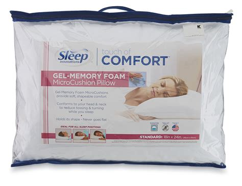 Sleep Innovations Touch Of Comfort Gel Memory Foam