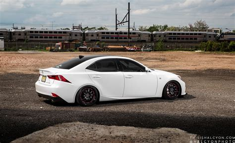 modified lexus is250 lexus is350 sedan white cars modified wallpaper 1600x978