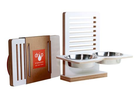 Wall Mounted Pet Feeder modern wall mounted pet feeders from drip module milk