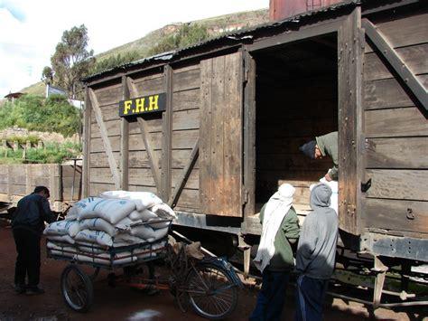 Fchh Historisch Auf Schmalspur G 252 Terwagen Aus Huancayo