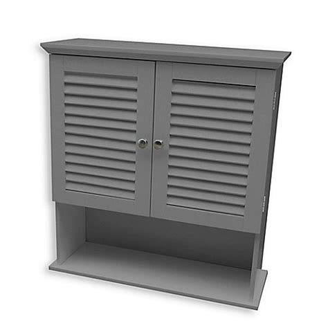 bed bath and beyond summit buy summit wall cabinet in grey from bed bath beyond