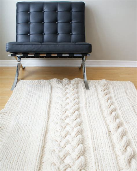 Diy Throw Rug by Diy Knitting Pattern Throw Blanket Rug Chunky