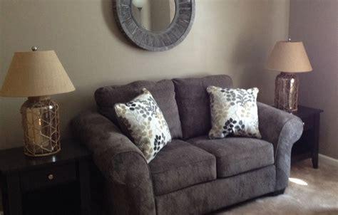 makonnen sofa makonnen charcoal loveseat signature design by ashley