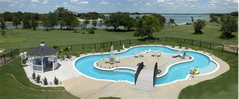 lazy river backyard modern backyard lazy river pool with lounge area in the