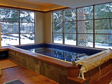 endless pools provide ideal winter swimming option