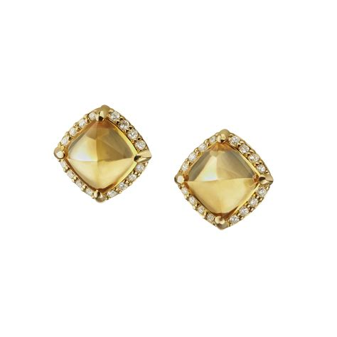 the gallery for gt earrings studs gold
