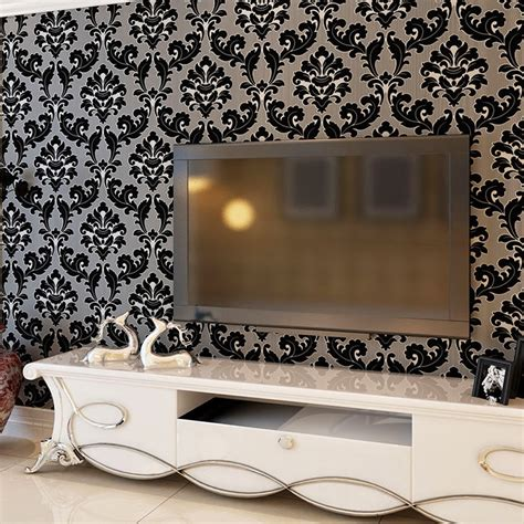 Black And White Wallpaper Living Room by Black And White Wallpaper Living Room Gallery
