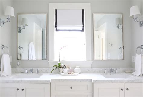 bathroom marble countertops carrara marble countertops transitional bathroom benjamin moore moonshine