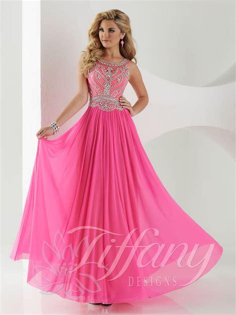 design prom dress tiffany designs 16152 prom dress prom gown 16152
