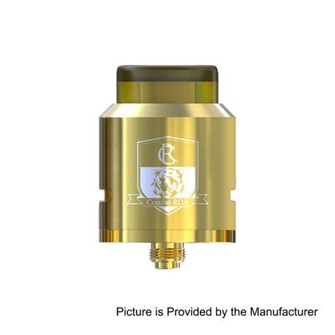 Ijoy Combo Rda Ii 25 Atomizer Ultem Authentic Sku02572 authentic ijoy combo rda triangle gold 25mm atomizer w bf pin
