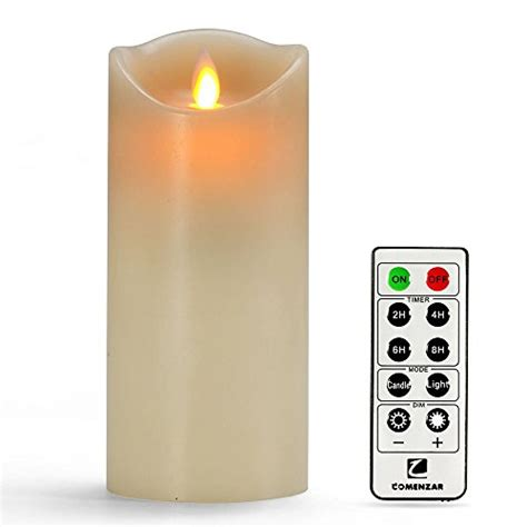 Emerson Flameless Candles With Timer comenzar 7 quot flameless candle battery operated candle with