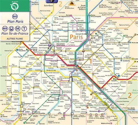 Ratp Plan De M 233 Tro Paris Interactif