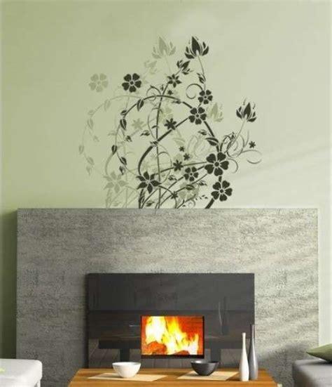 stencil con fiori decorazioni per pareti stencil e pittura foto 4 40