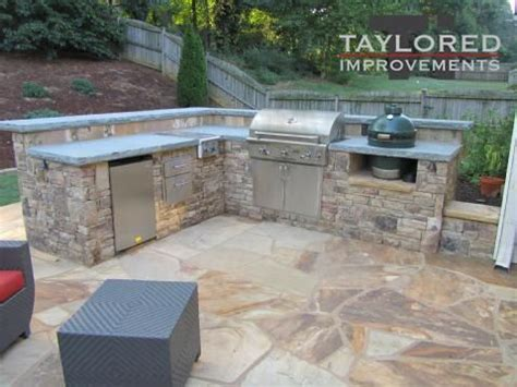 Stone Kitchen Ideas dad would love an outdoor kitchen with stone floor gift