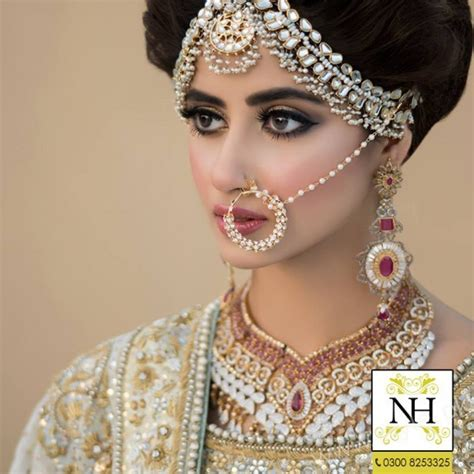 New Bridal Photo Shoot by Sajal Ali Bridal Photoshoot For Hussain Salon