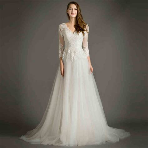 online get cheap simple wedding dress aliexpress com