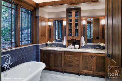 craftsman bathroom remodel craftsman done right craftsman bathroom austin by