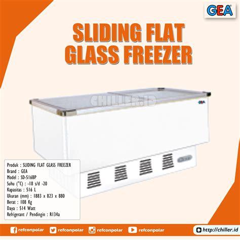 Freezer Sliding Glass Gea Sd 100 jual sd 516bp sliding flat glass freezer gea harga murah