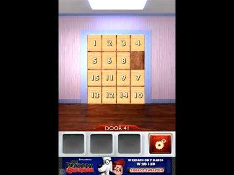 100 doors 2 levels 41 50 youtube 100 doors 2 level 41 youtube
