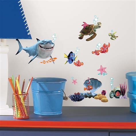 nemo wall stickers finding nemo peel stick wall decals and nursery