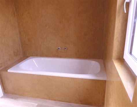 stuckarbeiten selber machen stucco veneziano im badezimmer wandgestaltung
