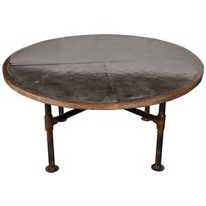 Zinc Dining Tables Zinc Top Dining Table At 1stdibs
