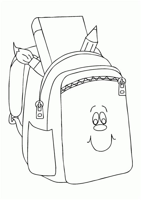 Tas Selempang Jansport Putih Pasir gambar mewarnai tas sekolah lucu deh contoh anak paud