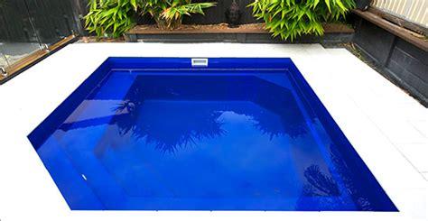 Courtyard Designs fibreglass pool shells range and designs