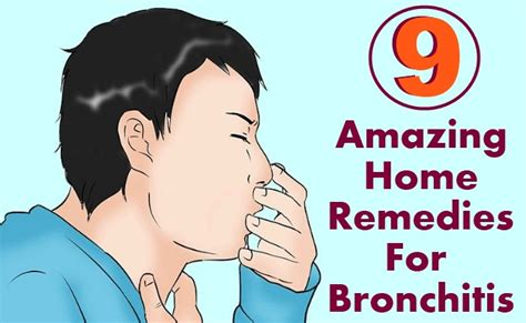 9 amazing home remedies for bronchitis diy health remedy
