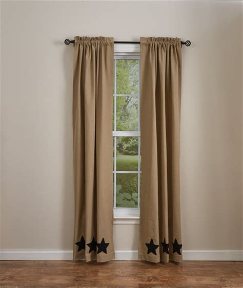 black and taupe curtains black taupe star lined curtain panels 72 quot x 84 quot set of 2