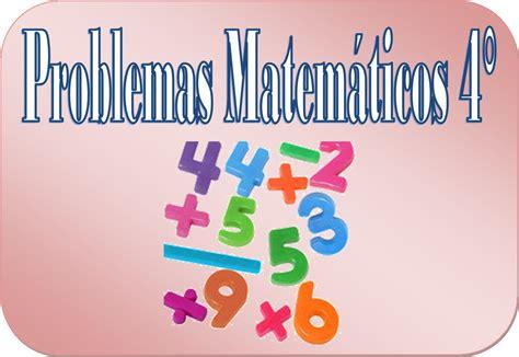 primaria tic 4 grado problemas matem 225 ticos para cuarto grado de primaria