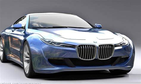 bmw  series concept auto bmw review