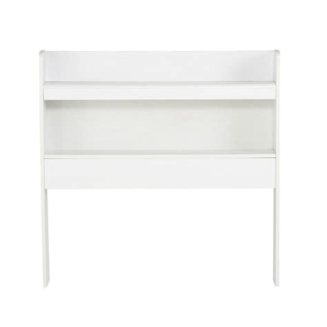 white headboard with shelves lane furniture laminate twin bookcase headboard with 2